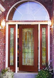 a fiber glass entry door.
