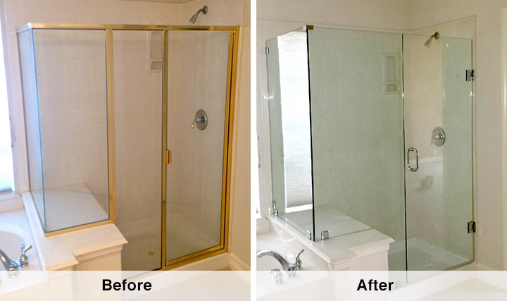 Beautiful Custom Shower Doors Dallas Tx