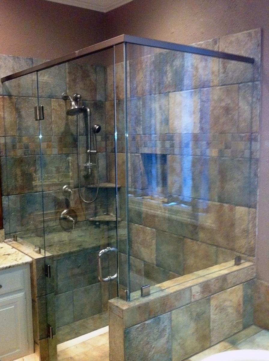 Custom Glass Shower Doors Amp Enclosures Metroplex Windows