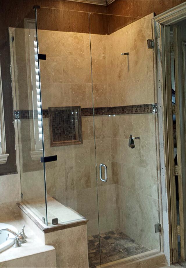 Custom Glass Shower Doors Enclosures Metroplex Windows Glass