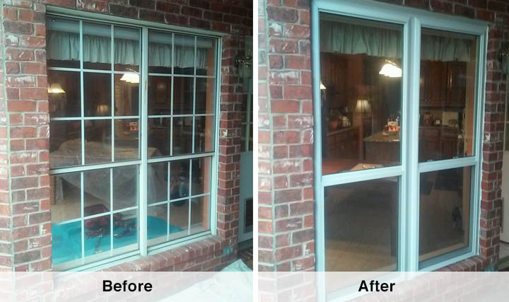 Window Replacement Before And After