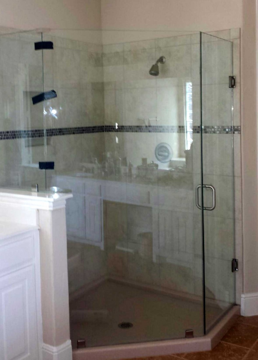 Custom Glass Shower Doors Enclosures Metroplex Windows Glass
